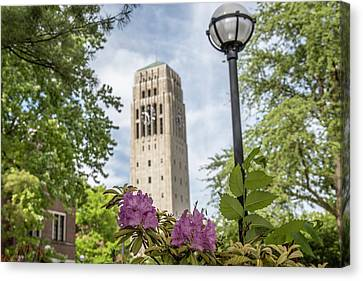 Burton Memorial Tower University Of Michigan  Canvas Print