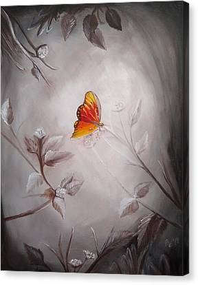 Butterfly In September Canvas Print