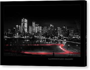 Calgary Skyline Canvas Print