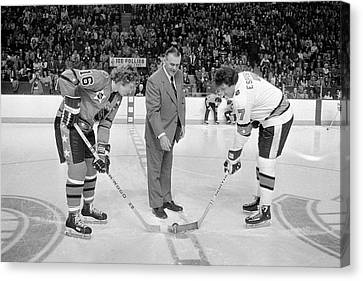 Campbell Conference V Wales Conference Canvas Print by Denis Brodeur