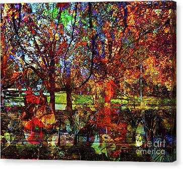 Changing Seasons In America Canvas Print