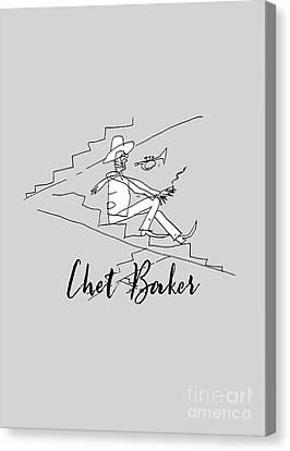 Chet Baker Canvas Print