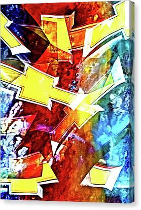 Chevy Bowtie Dreams Canvas Print