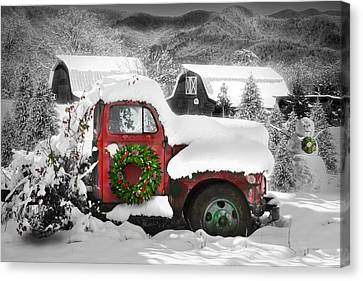 Christmas Tree Truck Canvas Prints Page 2 Of 6 Fine Art
