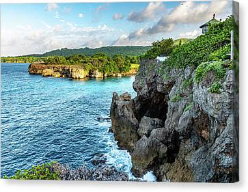 Cliffside Views Portland Jamaica Canvas Print