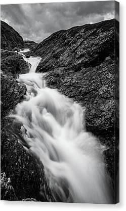close to Ygnisdalselvi, Norway Canvas Print