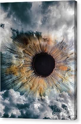 Clouds Eye Canvas Print