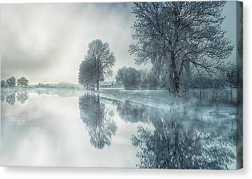 Cold Reflections Canvas Print