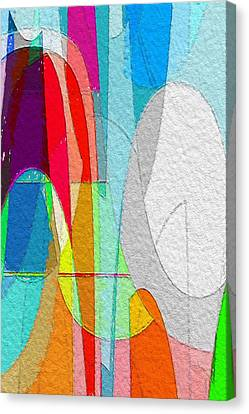 Color Invasion Canvas Print