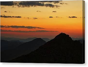 Evening At Mount Evans Canvas Print
