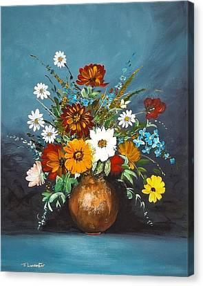 Colourful  Bouquet Canvas Print