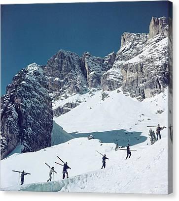 Cortina Dampezzo Canvas Print