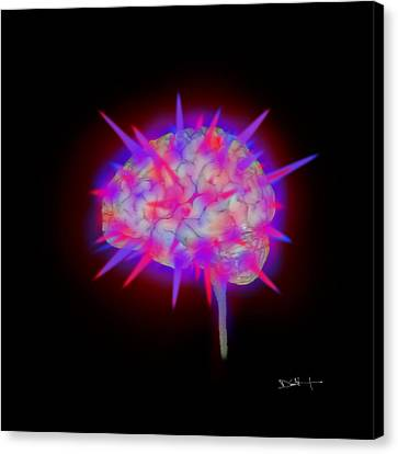 Creativity - Mri Digital Art Canvas Print