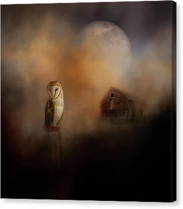Creature Of The Night 2019 Canvas Print