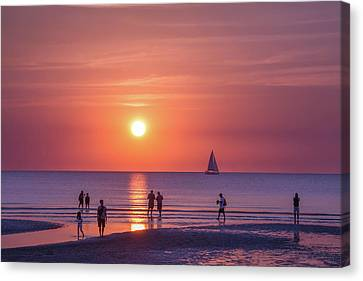 Darwin Sunset Canvas Print