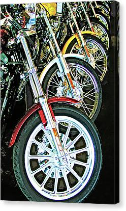 Ditto 5 - Motorcycle Wheels Canvas Print