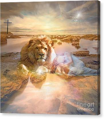 Divine Rest Canvas Print