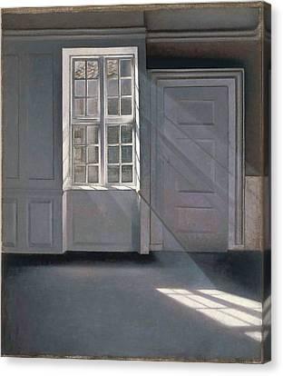Dust Motes Dancing in the Sunlight Fine Art Print//Poster Vilhelm Hammershoi
