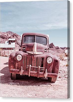 Eldorado Ghost Town Old Ford Pickup Truck Canvas Print