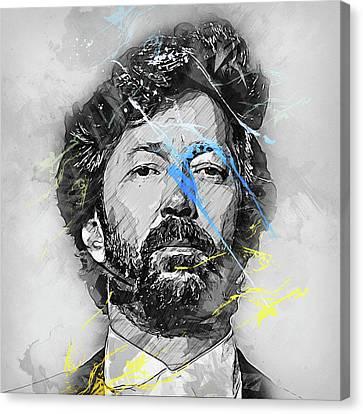 Eric Clapton - 13 Canvas Print