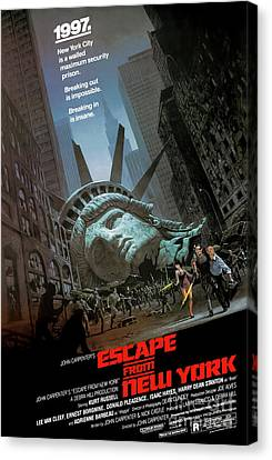 Art print POSTER Canvas Escape From New York Movie