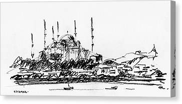 Estambul 03 Canvas Print