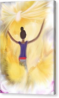 Eternal Presence Canvas Print