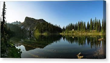 Eva Lake Panorama Canvas Print
