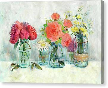 Mason Jar Canvas Prints Fine Art America