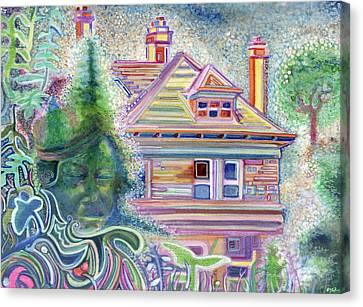 Trippy Canvas Prints Fine Art America