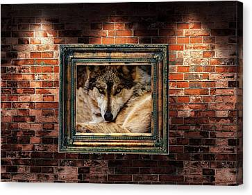 Gallery. Style Wolf Art Canvas Print