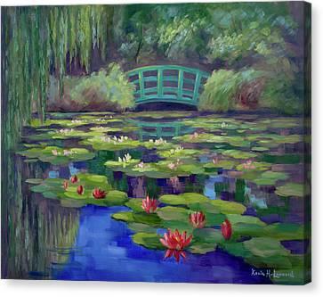 Giverny, Monet's Garden Canvas Print