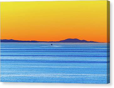 Golden Sunset Series I I Canvas Print