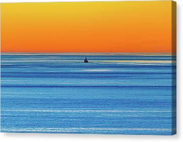 Golden Sunset Series I I I Canvas Print