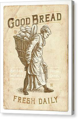 Good Bread Canvas Print