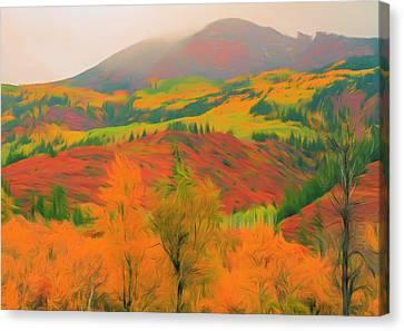 Grand Autumn View Canvas Print