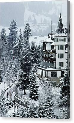 Grand Hotel Alpina Canvas Print