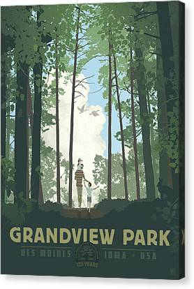 Grandview Park Canvas Print