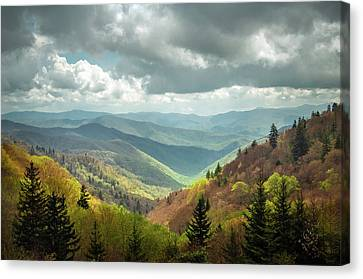 Great Smoky Mountains National Park Nc Arrival Canvas Print