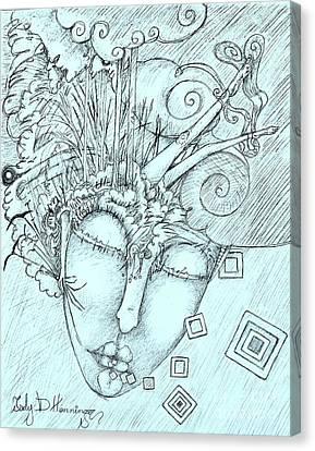 Head Over Heals Canvas Print