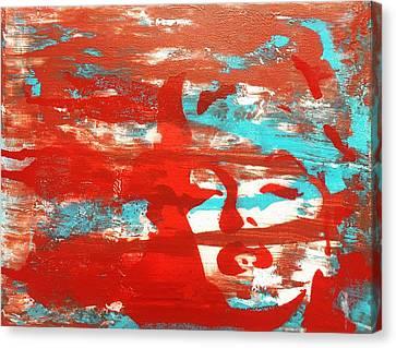 Her Glow Canvas Print