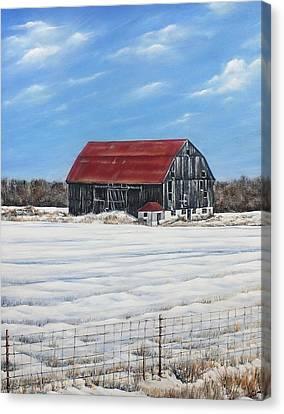 Hewson Barn Canvas Print