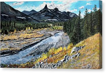 High Country September  Canvas Print