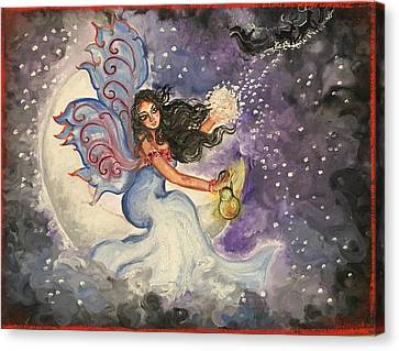 Holiday Fairy Art Canvas Print