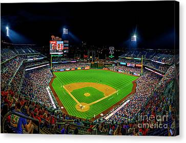 Home Of The Phillies Canvas Print