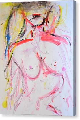 Human Too Canvas Print