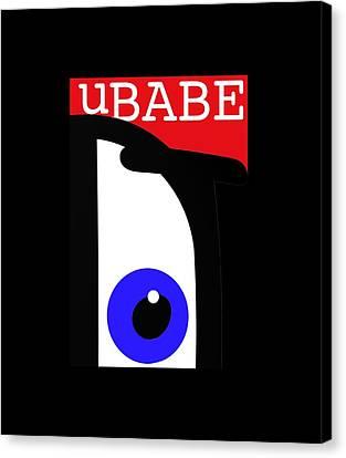 I See Ubabe Canvas Print