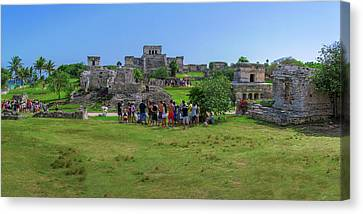 In The Footsteps Of The Maya Canvas Print