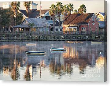 In The Stillness Of The Morn Fine Art Photography By Mary Lou Chmura Canvas Print