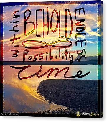 Infinite Possibility Canvas Print
